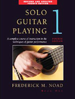 Frederick Noad's Solo Guitar book sold on Amazon